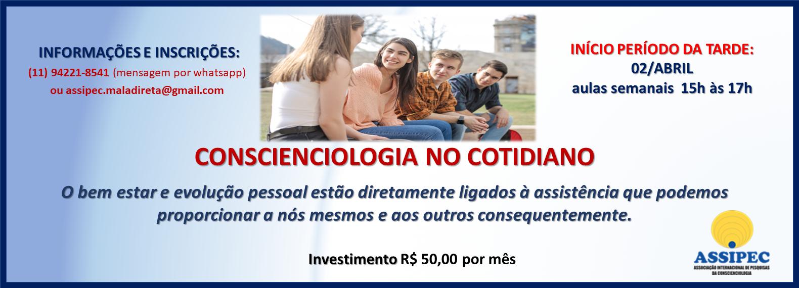 site CCIOLOGIA COTIDIANO ABRIL TARDE