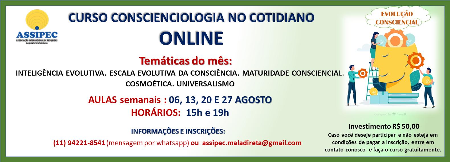 site CCIOLOGIA COTIDIANO AGOSTO ONLINE