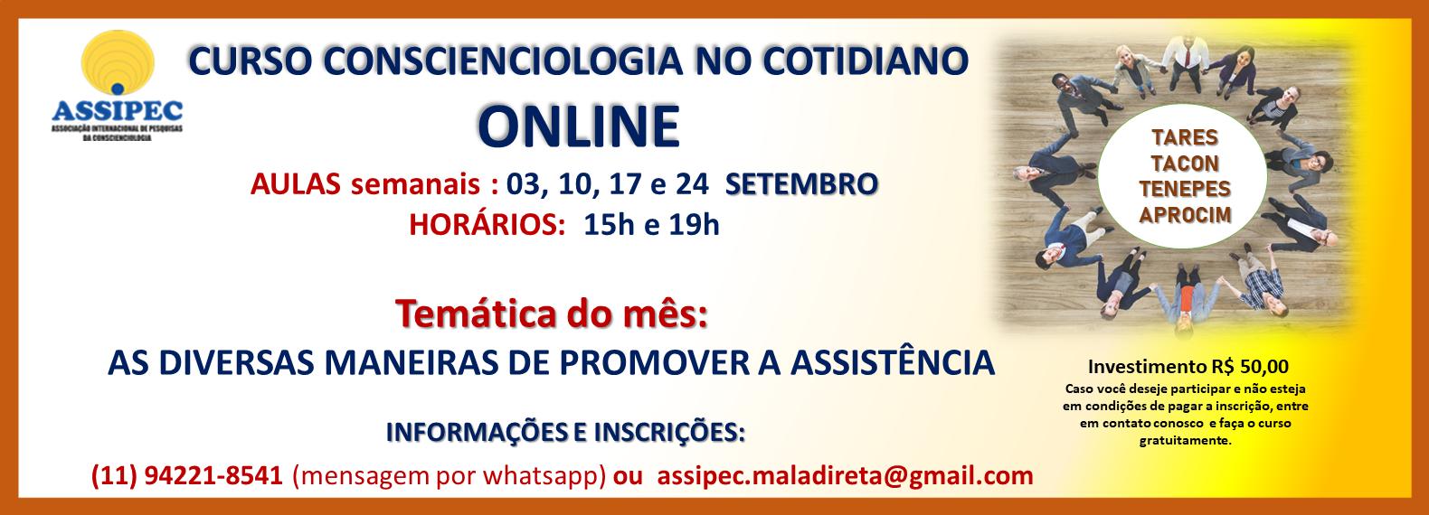site CCIOLOGIA COTIDIANO SETEMBRO ONLINE