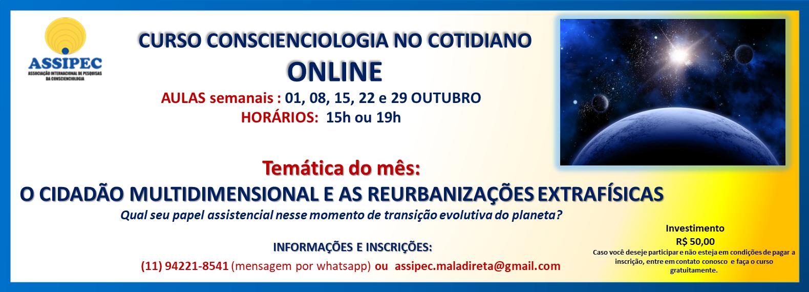 site CCIOLOGIA COTIDIANO OUTUBROL ONLINE